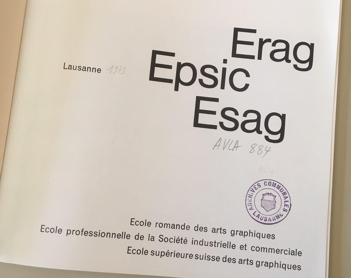 Erag Epsic Esag (1973)